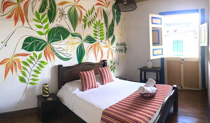 Double room Hostal Salento