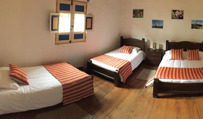Family Room for 4 people - Hostel Ciudad de Segorbe Salento