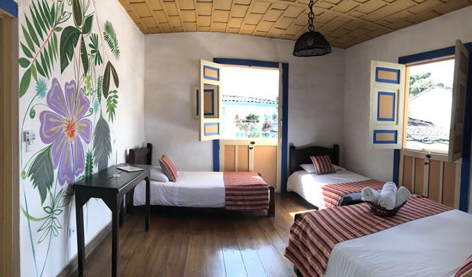 Cuadruple Room Hostel